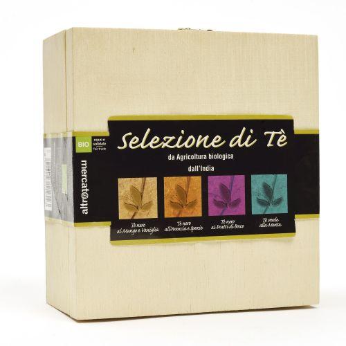 Tè Aromatizzati India In Cofanetto BIO 4X10 Filtri (min. acquisto 10 pezzi)