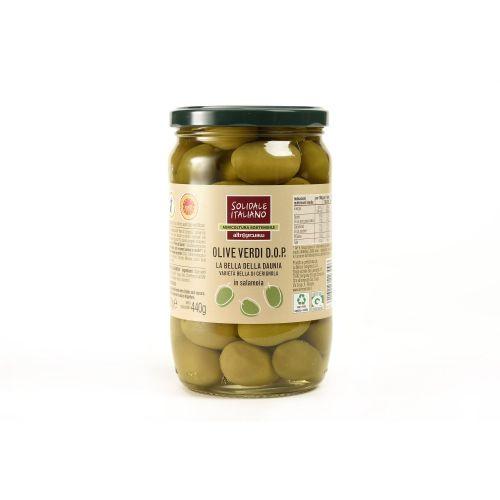 Olive Verdi Bella Di Cerignola 720 g (min. acquisto 6 pezzi)