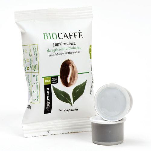 Caffè 100% Arabica Biocaffè 2 Capsule BIO 2X7 g (min. acquisto 10 pezzi)