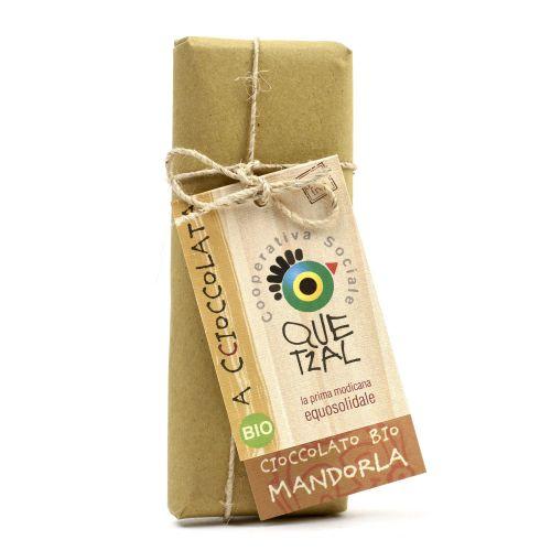 Cioccolato Modicano Alle Mandorle BIO 60 g (min. acquisto 10 pezzi)