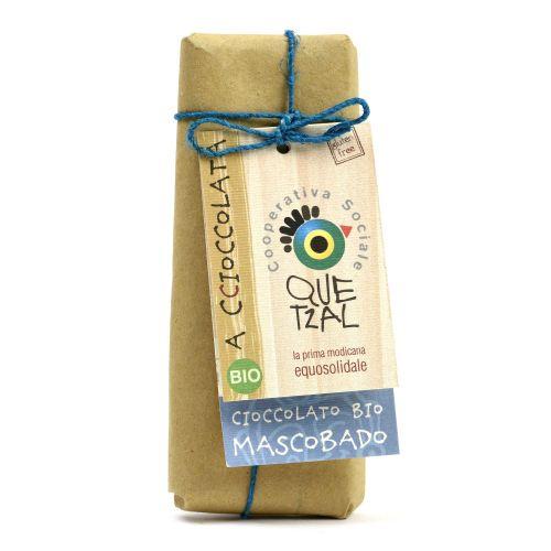 Cioccolato Modicano Al Mascobado BIO 60 g (min. acquisto 10 pezzi)