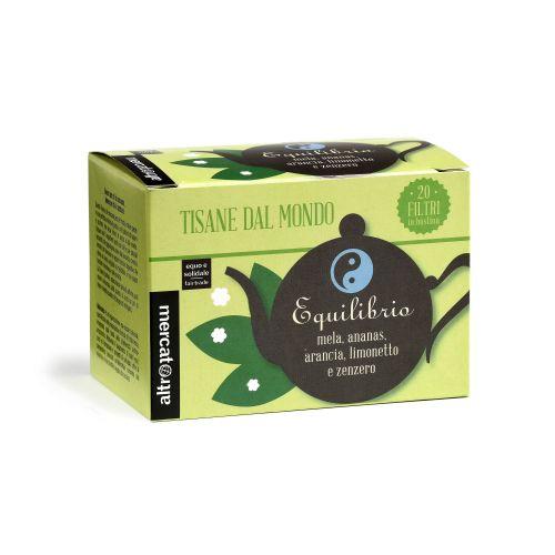 Tisana Equilibrio In Filtri 20 Filtri (min. acquisto 10 pezzi)