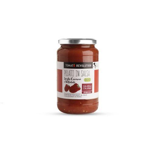 Pomodori Pelati In Salsa BIO 540 g (min. acquisto 10 pezzi)
