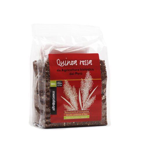 Quinoa Rossa In grani Perù BIO 250 g (min. acquisto 10 pezzi)