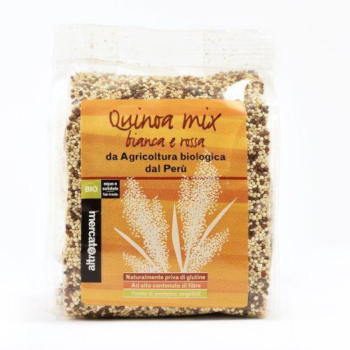 Quinoa Rossa E Bianca In grani Perù BIO 250 g (min. acquisto 10 pezzi)