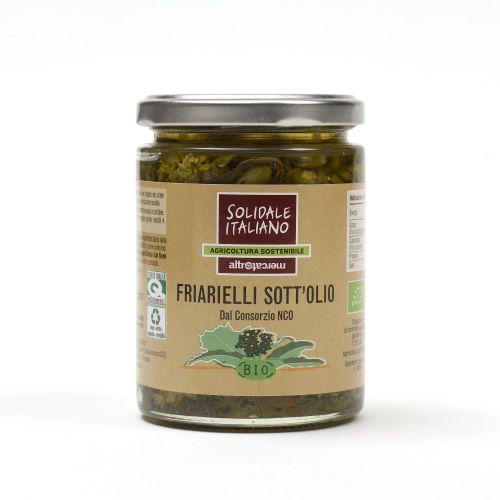 Friarielli Sott'Olio BIO 285 g (min. acquisto 10 pezzi)