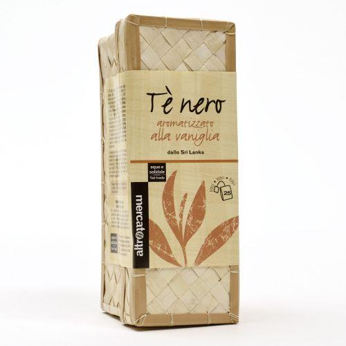 Tè Nero Alla Vaniglia Sri Lanka Cestino In Filtri 25 Filtri (min. acquisto 10 pezzi)