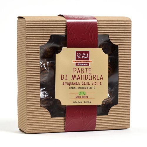 Paste Di Mandorla Caffè Limone, Carruba BIO 180 g (min. acquisto 6 pezzi)
