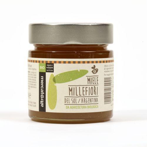 Miele Millefiori Del Sol Argentina BIO 300 g (min. acquisto 10 pezzi)