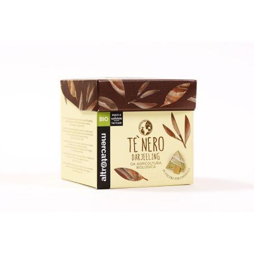 Tè Nero Darjeeling In Filtri Piramidali BIO 20 Filtri (min. acquisto 10 pezzi)