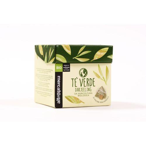 Tè Verde Darjeeling In Filtri Piramidali BIO 20 Filtri (min. acquisto 10 pezzi)