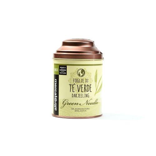 Tè Verde Darjeeling green Needle Lattina In Foglie BIO 50 g (min. acquisto 10 pezzi)