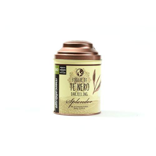 Tè Nero Darjeeling Splendor Lattina In Foglie BIO 50 g (min. acquisto 10 pezzi)
