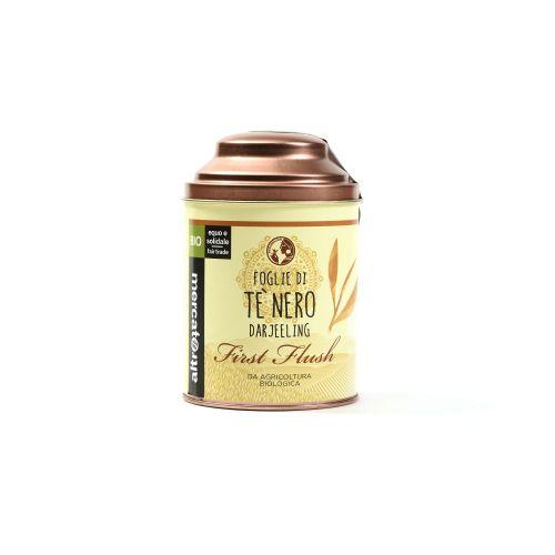 Tè Nero Darjeeling First Flush Lattina In Foglie BIO 50 g (min. acquisto 10 pezzi)
