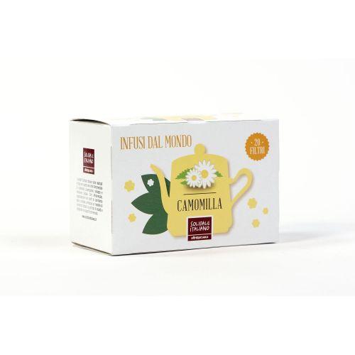 Camomilla In Filtri 20 g (min. acquisto 10 pezzi)