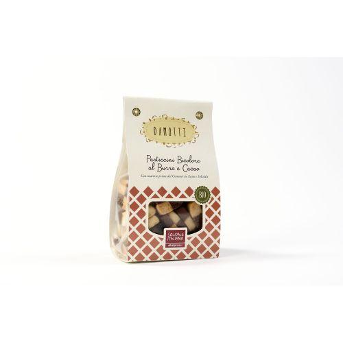 Pasticcini Damotti Al Burro E Cacao BIO 200 g (min. acquisto 10 pezzi)