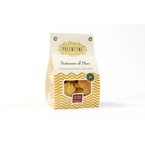Pasticcini Polentine Al Mais BIO 200 g (min. acquisto 10 pezzi)