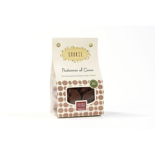 Pasticcini Cookie Cacao Con gocce Di Cioccolato BIO 200 g (min. acquisto 10 pezzi)