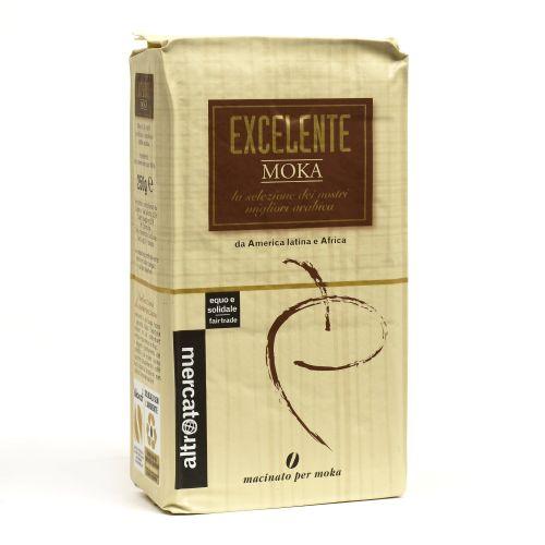 Caffè 100% Arabica Excelente Macinato Moka 250 g (min. acquisto 10 pezzi)