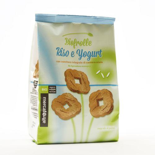 Biscotti Biofrolle Riso E Yogurt BIO 250 g (min. acquisto 10 pezzi)