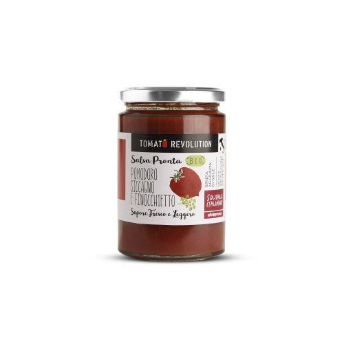 Salsa Pronta Pomodoro Siccagno E Finocchietto BIO 280 g (min. acquisto 10 pezzi)