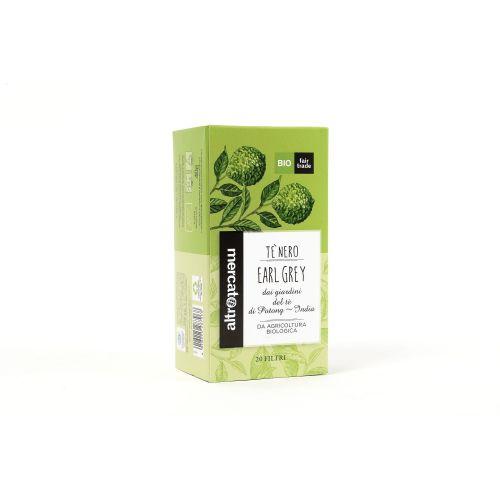 Tè Nero Earl grey India In Filtri BIO 20 Filtri (min. acquisto 10 pezzi)