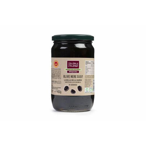 Olive Nere Bella Di Cerignola  (6 pezzi)