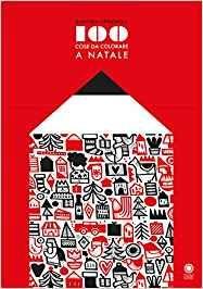 100 Cose da Colorare a Natale - Libro (min. acquisto 10 pezzi)