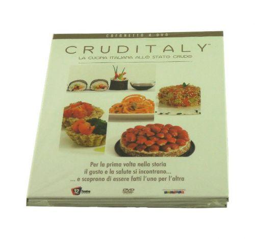 Cruditaly - La cucina italiana allo stato crudo (cofanetto 4 DVD)