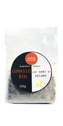 Gomasio con Semi di Sesamo 200g Bio