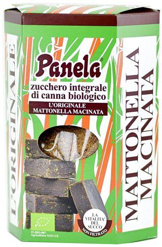 Zucchero Integrale Panela (mattonella macinata) 1kg BIO