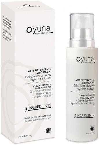 8 ingredients - latte detergente viso occhi 150 ml BIO  (6 pezzi)