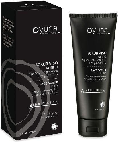 Absolut detox - scrub viso rubino 50 ml BIO  (6 pezzi)