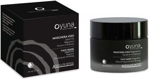 Absolute detox - maschera viso magnetica 100 g BIO  (6 pezzi)
