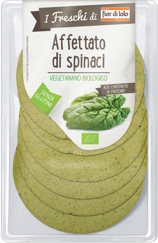 Affettato vegetale agli spinaci I Freschi di 80 g BIO