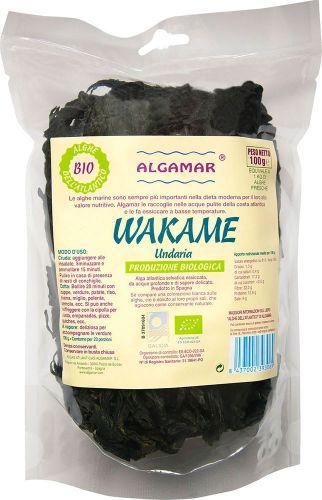 Alghe wakame 100 g BIO  (6 pezzi)