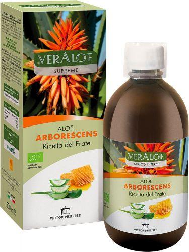 Aloe arborescens ricetta del frate 500 g BIO  (min. acquisto 6 pezzi)