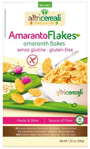 Amaranto flakes senza glutine linea Altri Cereali 200 g BIO