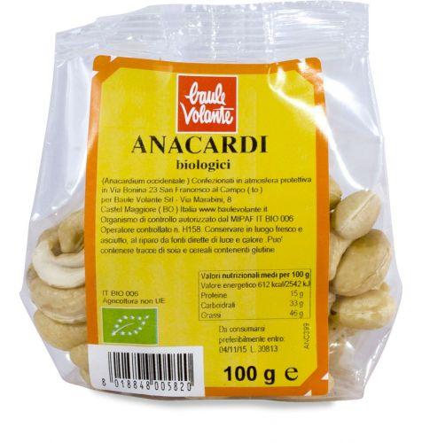 Anacardi 100 g BIO