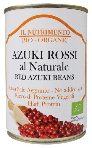 Azuki rossi al naturale 400 g BIO (min. acquisto 10 pezzi)