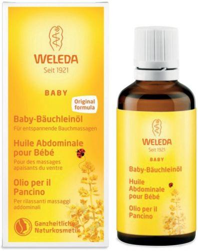 Baby - olio per il pancino 50 ml BIO  (6 pezzi)