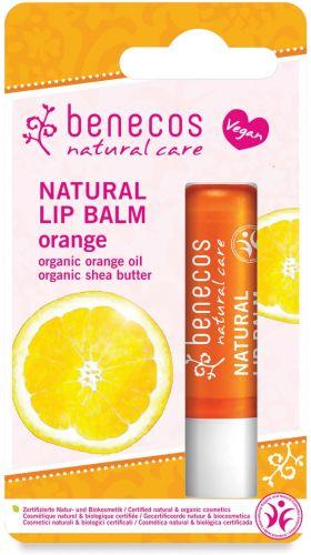 Balsamo labbra - arancio 4.8 g BIO  (min. acquisto 10 pezzi)