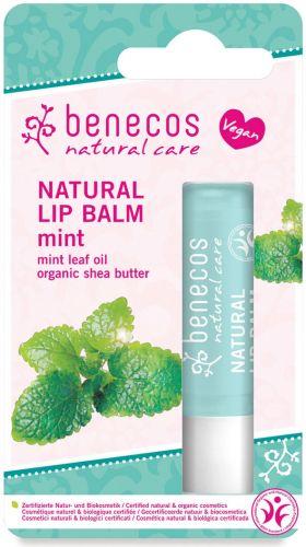 Balsamo labbra - menta 4.8 g BIO  (min. acquisto 10 pezzi)