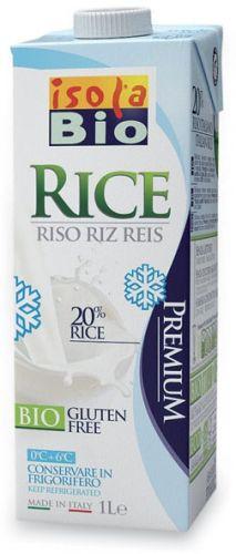 Bevanda di riso - da frigo 1 L BIO senza glutine  (min. acquisto 10 pezzi)
