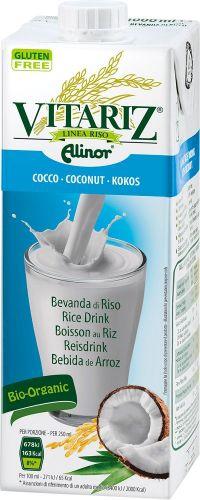 Bevanda di riso al cocco 1 L BIO senza glutine  (min. acquisto 10 pezzi)