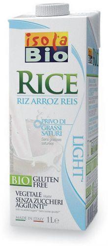 Bevanda di riso light 1 L BIO senza glutine