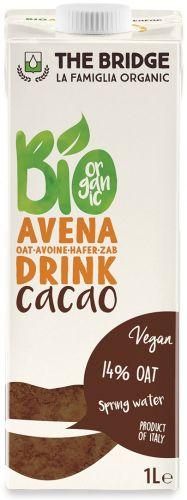 Bio avena drink al cacao 1 L BIO  (min. acquisto 10 pezzi)