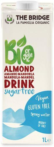Bio mandorla drink senza zucchero 1 L BIO senza glutine  (min. acquisto 10 pezzi)
