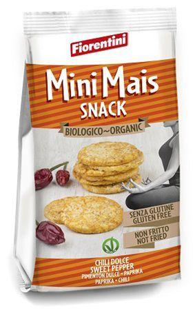 Bio Mini Mais Snack Al Chili 50 g