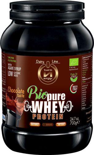 Bio pure whey protein al cacao 700 g BIO senza glutine